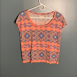 Aerie patterned tee